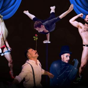 Burley Boys - Dancing Men, Cabaret show Brighton Hen Do Activity